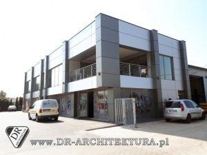 Architekt Radzymin - Nowoczesny budynek biurowo-socjalny