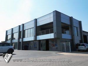 Nowoczesny budynek biurowo-socjalny