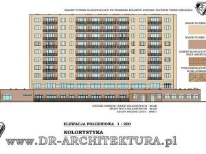 Architekt Warszawa - Termomodernizacja budynku wielorodzinnego
