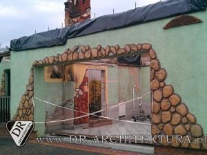 Odbudowa budynku mieszkalnego jednorodzinnego po pożarze