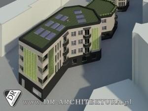 Koncepcja budynku niskoenergetycznego wielorodzinnego