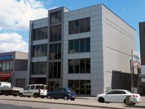 Architekt Warszawa - Budynek usługowo-handlowy z częścią mieszkalną
