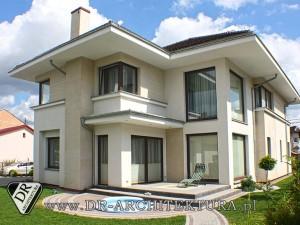 Architekt Ząbki - Nowoczesny budynek mieszkalny jednorodzinny