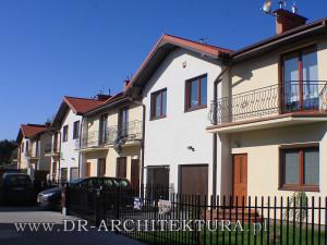 Osiedle budynków mieszkalnych jednorodzinnych w zabudowie bliźniaczej
