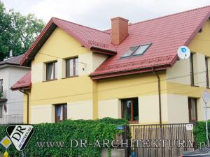 Architekt Zielonka - Nadbudowa i przebudowa budynku mieszkalnego jednorodzinnego