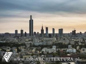 Architekt Warszawa - Koncepcja budynku wysokościowego